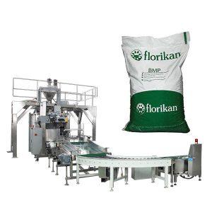 دستگاه بسته بندی اتوماتیک بسته بندی شده برای پودر شیر در کیسه های 10 کیلوگرمی 25 کیلوگرمی
