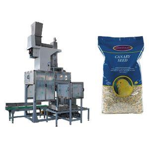 بسته بندی 20kg Seed باز کردن بسته بندی بسته بندی دهان و بسته بندی بسته بندی اتوماتیک بسته بندی کیسه های بسته بندی اتوماتیک