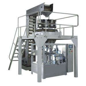 اتوماتیک Premade Granule وزن گیری پر کردن و آب بندی تولید خط