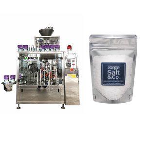 ماشین بسته بندی اتوماتیک روتاری بسته بندی شده برای نمک