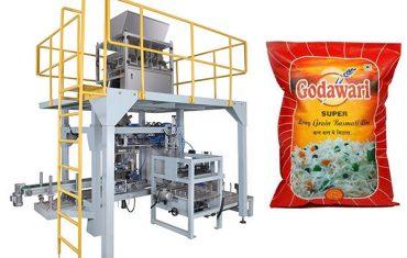 کیسه بزرگ کیسه دانه ای بسته بندی ماشین آلات بسته بندی برای برنج