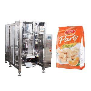 دستگاه بسته بندی اتوماتیک بسته بندی اتوماتیک مواد غذایی چهارجانبه کامل