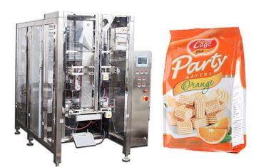 ماشین ظرف بسته بندی اتوماتیک مواد غذایی چهار بار مهر و موم