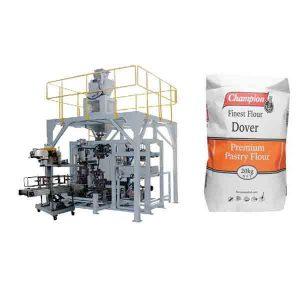 دستگاه بسته بندی پودر 20 کیلوگرم دستگاه بسته بندی دستگاه های بسته بندی آرد با دستگاه بسته بندی