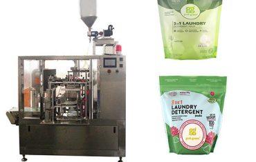 ماشین لباسشویی مایع روتاری premade بسته بندی ماشین