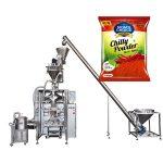 دستگاه بسته بندی بافي VFS با پرکننده شونده برای پاپیچ و پودر مواد غذایی چیلی