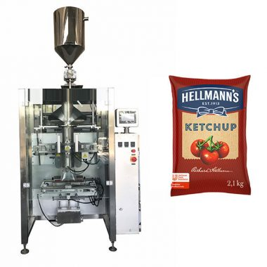 دستگاه بسته بندی سس گوجه فرنگی 500 گرم و 2 کیلوگرمی